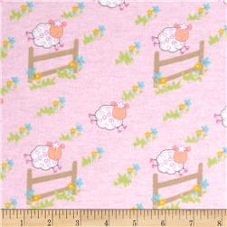 Newcastle Flannel Countdown Pink