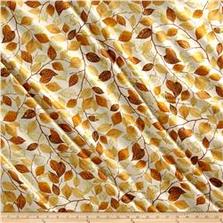 Kanvas Autumn Splendor Metallic Fall Foliage Cream/Umber