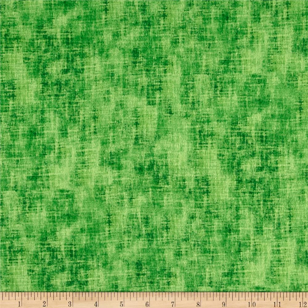 Timeless Treasures Flannel Studio Texture Grass
