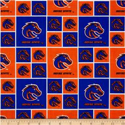 Collegiate Cotton Broadcloth Boise State University Orange