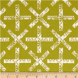 Sunprint X & T Light Green Fabric