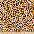 Kaufman Pumpkin Fun Candy Corn Black