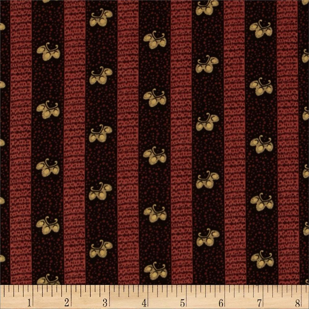 Pine Tree Lodge Stripe Red/Black