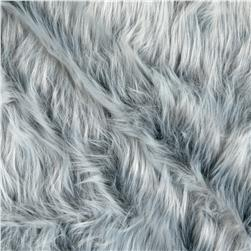 Faux Fur Monkey Grey Frost