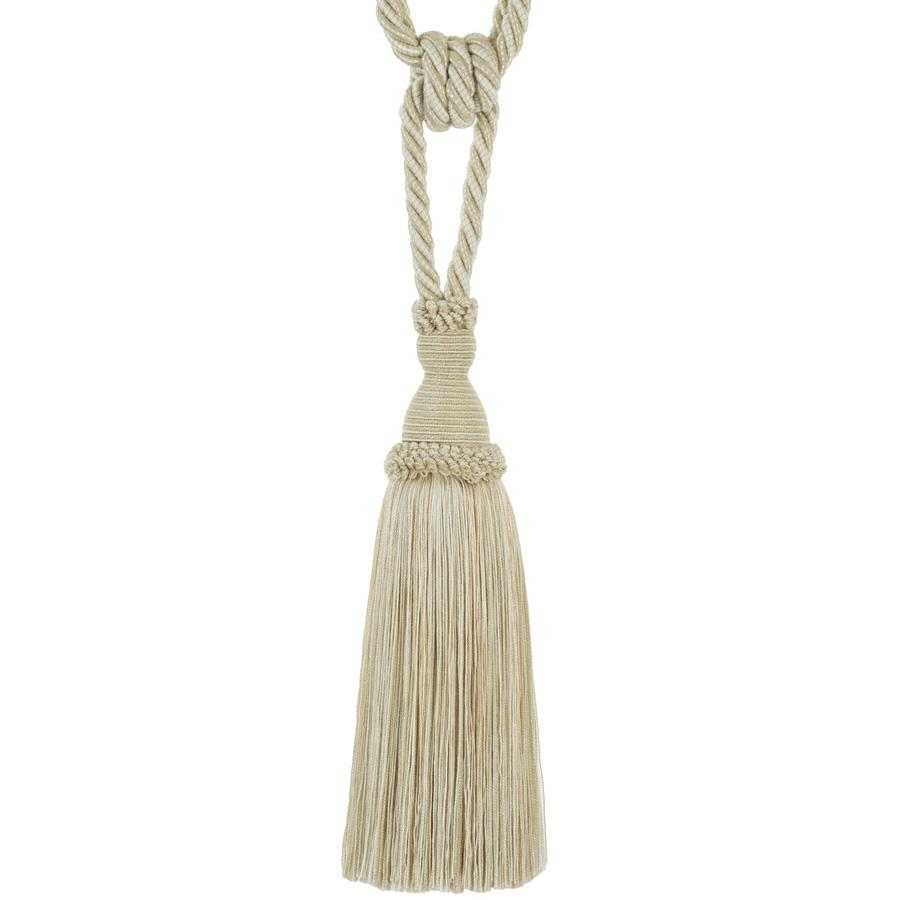"Trend 29"" 02871 Single Tassel Tieback Greige"