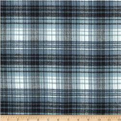 Primo Plaids Flannel Plaid 2 Navy Fabric