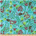 Dena Designs Winterland Snowberry Blue
