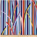 Michael Miller Cynthia Rowley Paintbox Crazy Stripe Primary