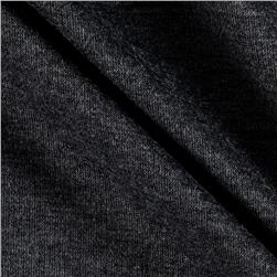 Charlie Solid Sweater Knit Black/Grey