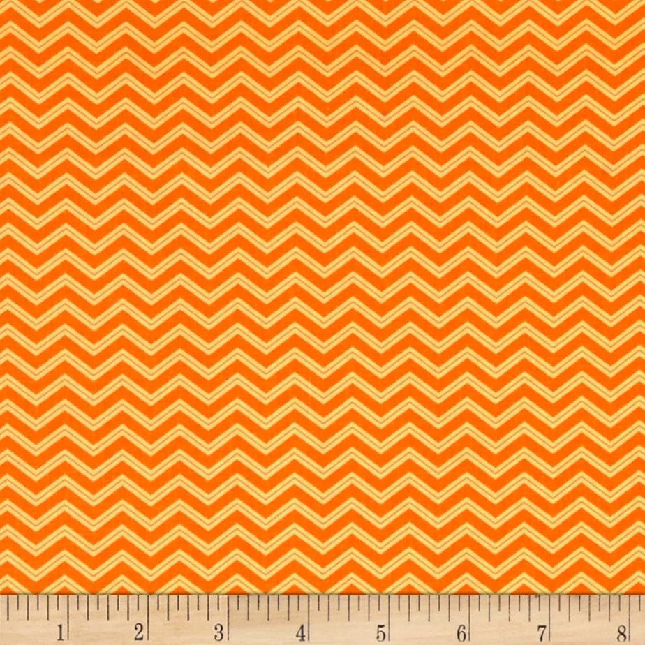 Moda Brighten Up! Chevron Up Orange