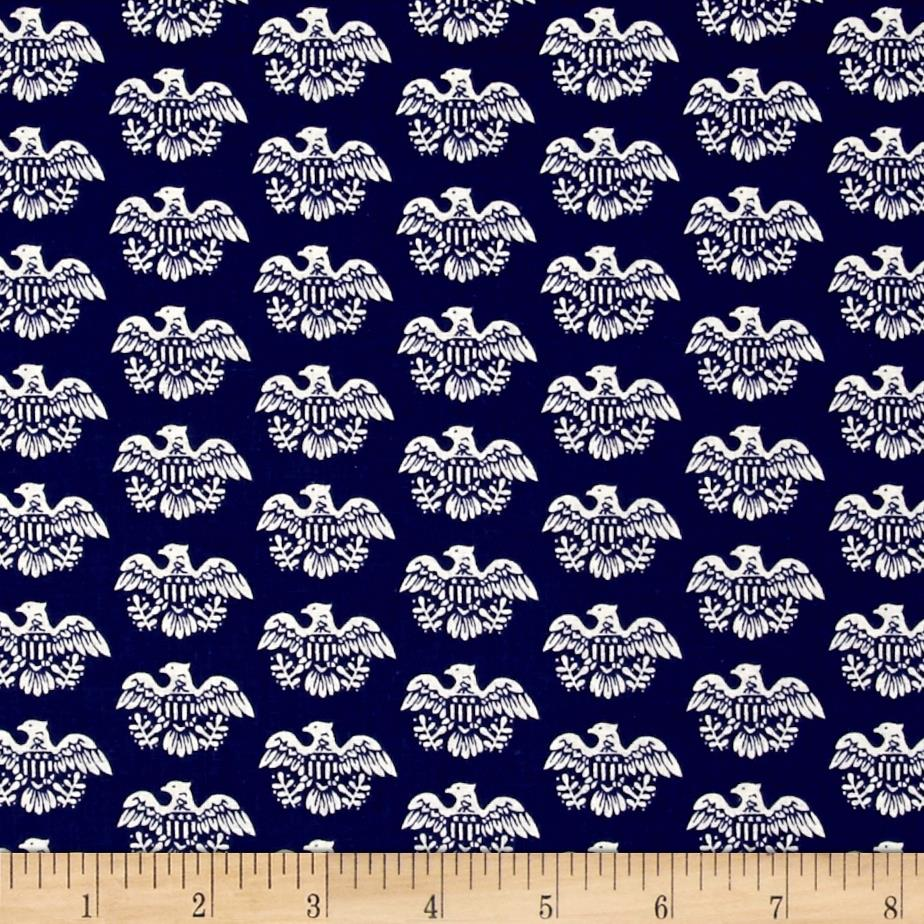 Mary Fons Small Wonders Americana Eagle Blue