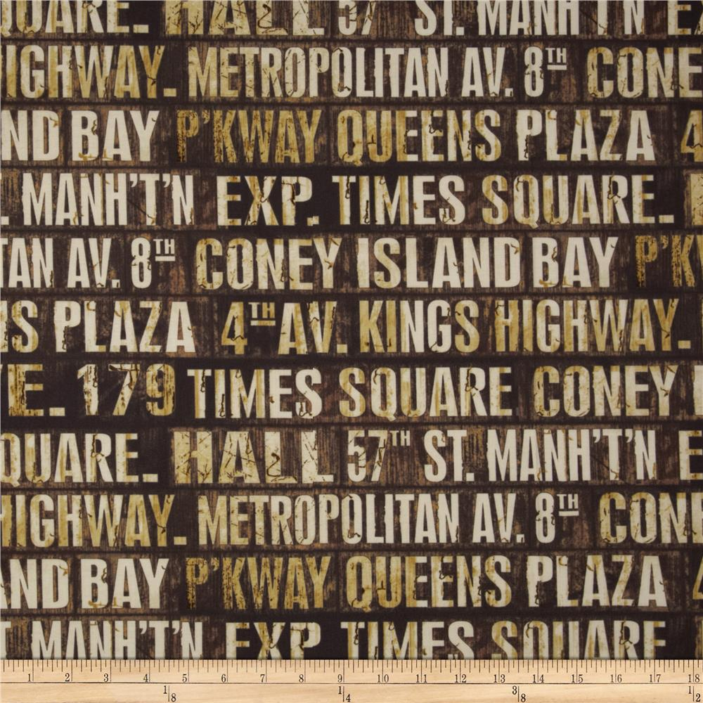 Tim Holtz Eclectic Elements DSubway Signs Neutral