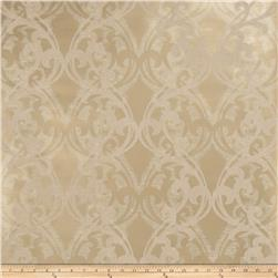Fabricut Gwyneth Wallpaper Gold Gray (Double Roll)
