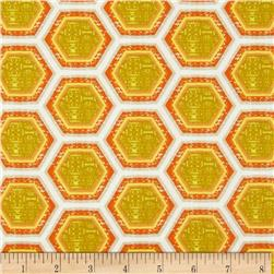 Ty Pennington Impressions 2012 Hive Sunset Yellow/Orange