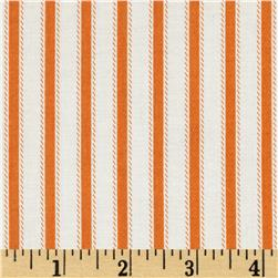 Riley Blake Happy Haunting Stripe Orange