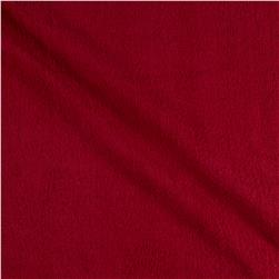 Terry Cloth Red Fabric