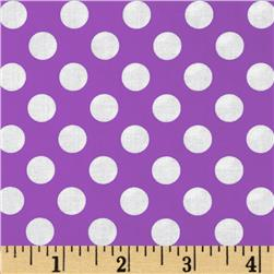 Michael Miller Ta Dot Purple Fabric