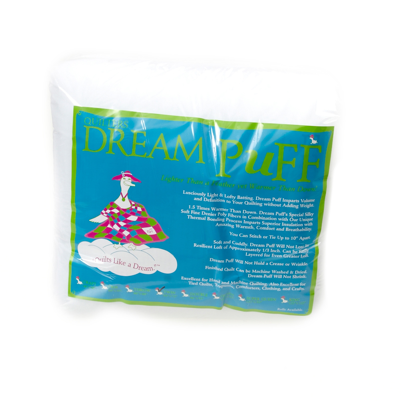 Quilter's Dream Puff Batting (93'' x 72'') Twin by Quilter's Dream in USA