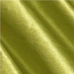 Dupioni Silk Fabric Lime