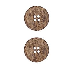 Coconut Button 7/8'' Amazon Natural