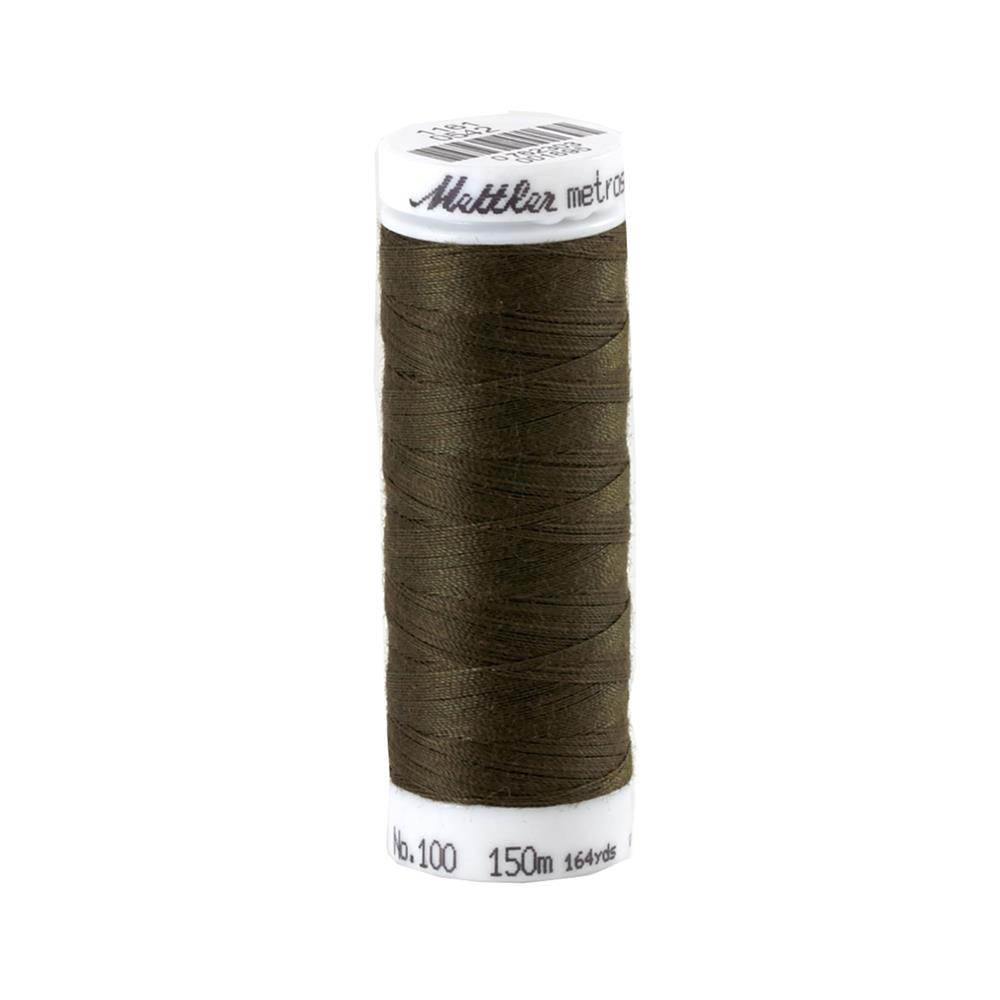 Mettler Metrosene Polyester All Purpose Thread Umber