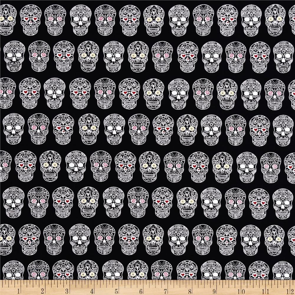 Sweet Rebellion Sugar Skulls Black