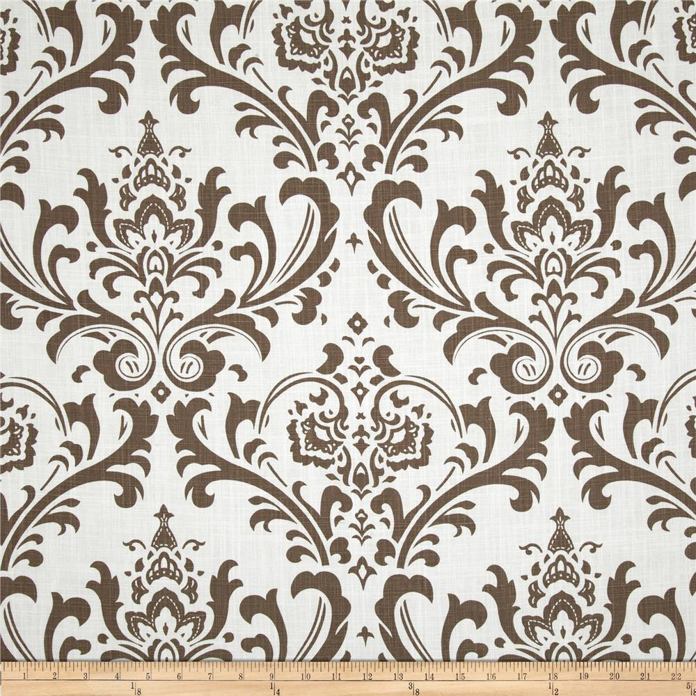 Premier Prints Traditions Slub Drew Italian Brown