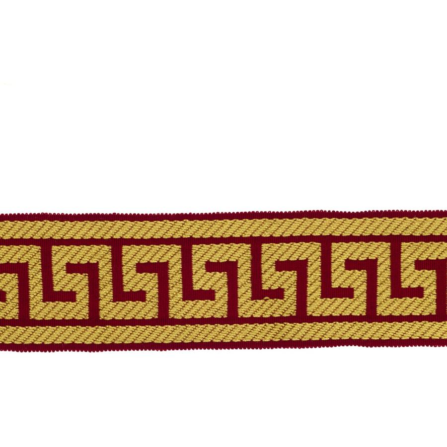 "Fabricut 2.625"" Athens Key Trim Guilded Lacquer"