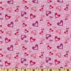 Little Princess Stars & Hearts Pink