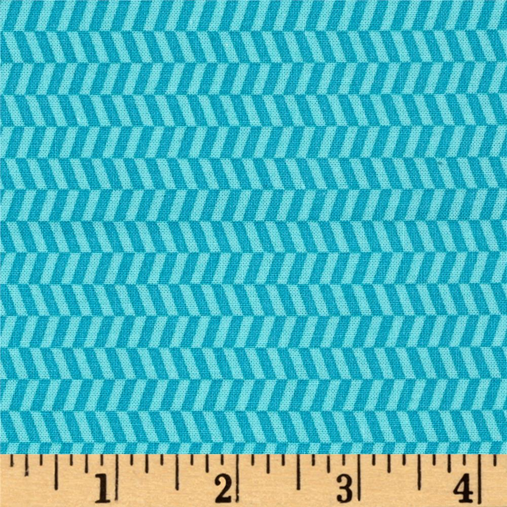 Uppercase Tweed Turquoise