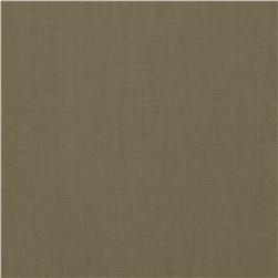 Micro French Twill Khaki Fabric