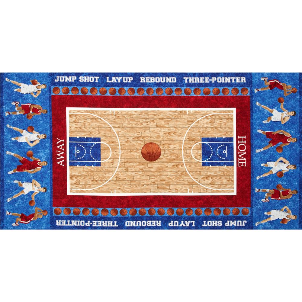 Stonehenge Kids Hoops Basketball Players 24 In. Panel