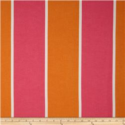 P Kaufmann Indoor/Outdoor Cabana Stripe Melon