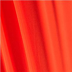 Crepe de Chine Solid Orange