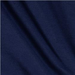 Riley Blake Cotton Jersey Knit Solid Navy Fabric