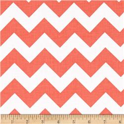 "Riley Blake 58"" Manufactures Cut Medium Chevron Rouge"