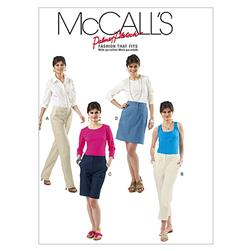 McCall's Misses' Skirt, Shorts and Pants In 2