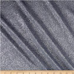 Slinky Acetate Knit Glitter Gray