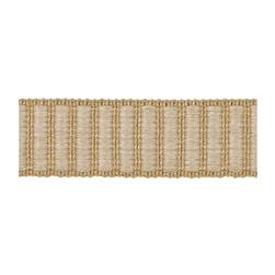 "Fabricut 1.5"" Winnowing Trim Natural"