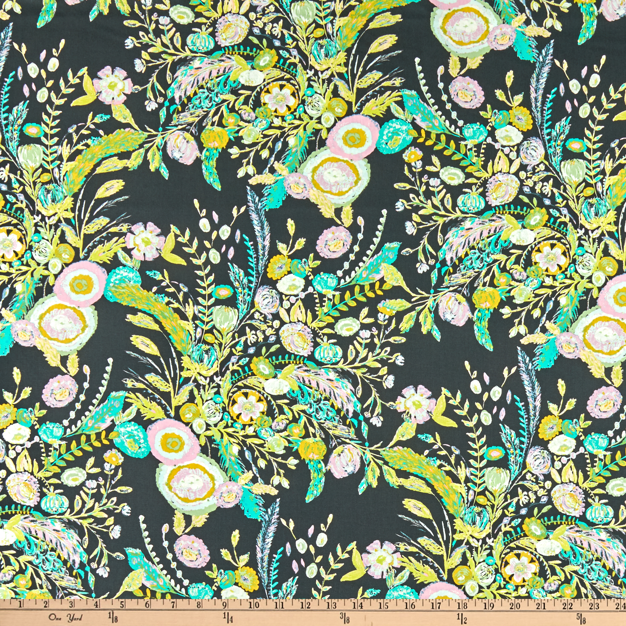 Image of Art Gallery 58'' Wide Millie Fleur Microburst Beam Fabric