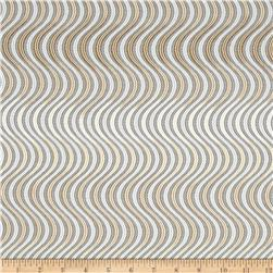 Lavish Metallic Swirl Stripe Shadow