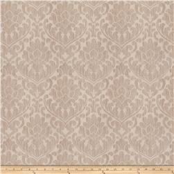 Fabricut Ledger Damask Faux Silk Ecru