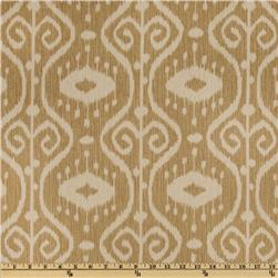 Magnolia Home Fashions Bali Ikat Wheat Fabric