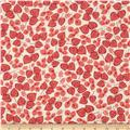 Geneva Retro Tossed Leaves Coral