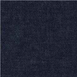 Kaufman Cotton/Linen Denim 6 oz. Blue Fabric