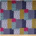 Michael Miller Minky Indian Summer Patch-ouli Jewel