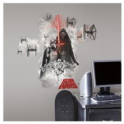 Star Wars Ep VII Villans Burst Giant Wall Decal