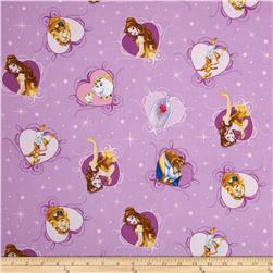 Disney Beauty & The Beast Belle with Film & Hearts Lavender