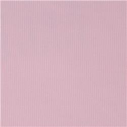 Poly Rib Knit Solid Pale Pink