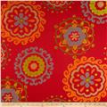 Richloom Arial Upholstery Jacquard Tomato